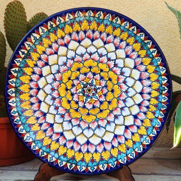 piatto-ceramica-vari-colori-mandala1