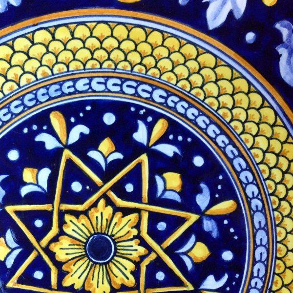 piatto-ceramica-blu-stella-2