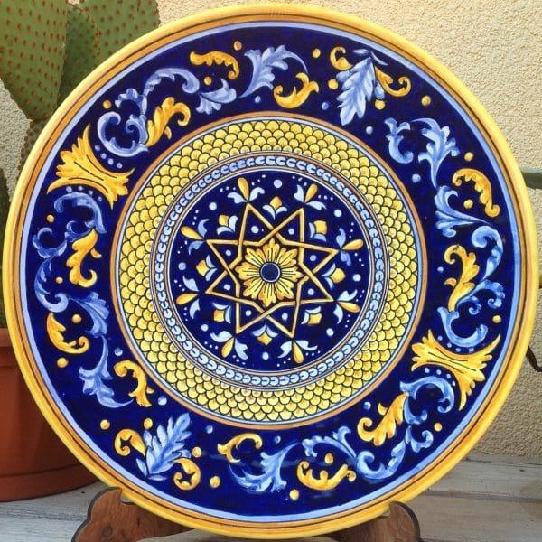 piatto-ceramica-blu-stella-4