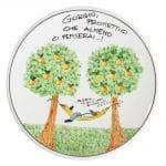 piatto-disegno-personalizzato-simpatico-ceramica-pensionamento-idea-regalo