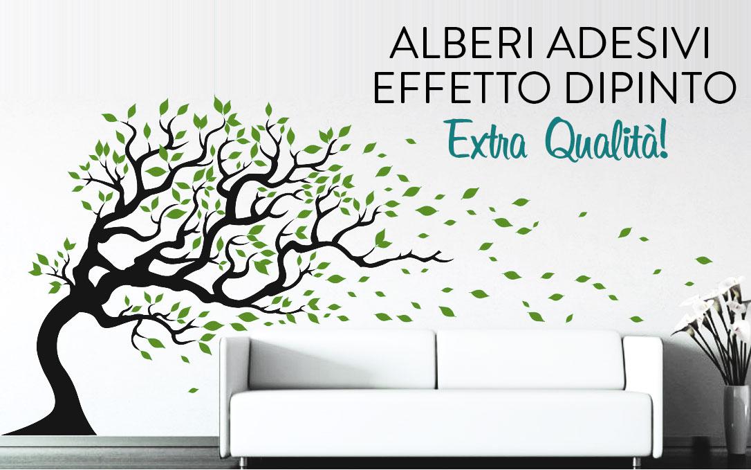 Adesivi murali con alberi e rami olalla for Adesivi parete