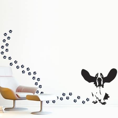 adesivi-murali_Cane-e-impronte_grande