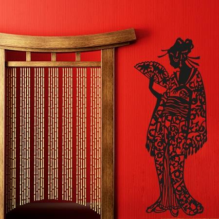 adesivi-murali_Donna-Giapponese_grande