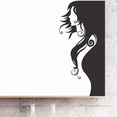 adesivi-murali_Donna-profilo_grande
