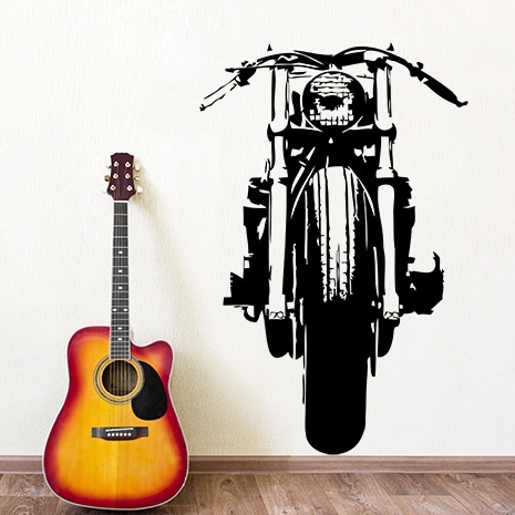 adesivi-murali_Harley-davidson-motocicletta_grande