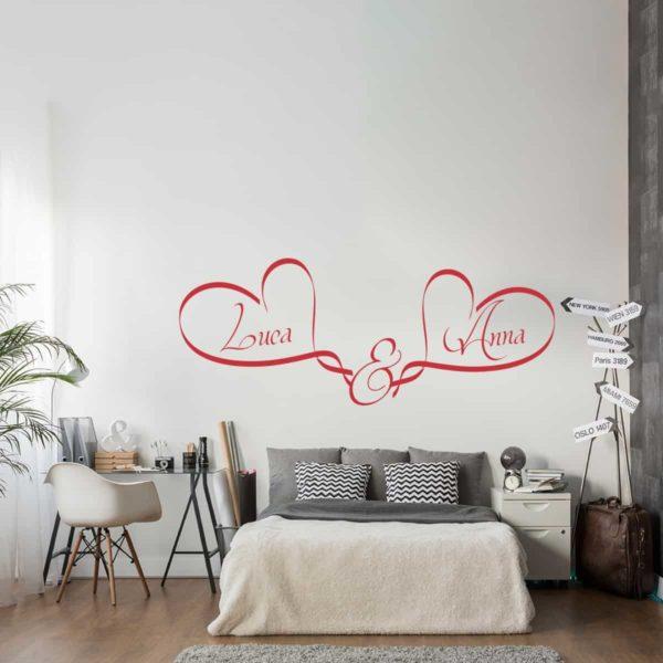 adesivo-murale-due-cuori-personalizzabile