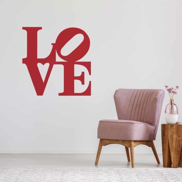 adesivo-murale-love