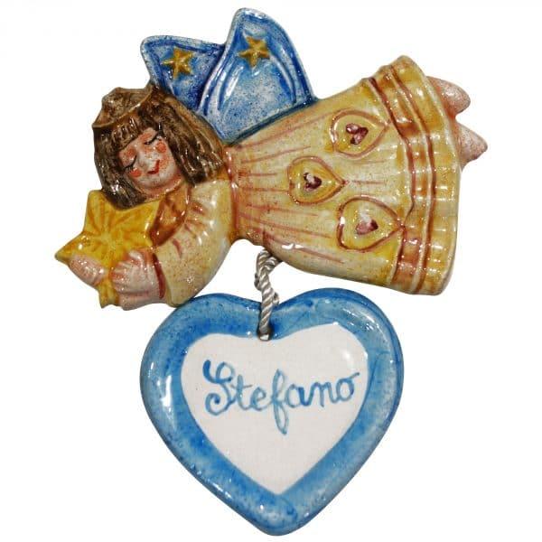 angioletto-ceramica-personalizzato-nome-bambino