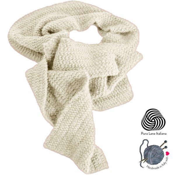sciarpa-fatta-a-mano-lana-bianca