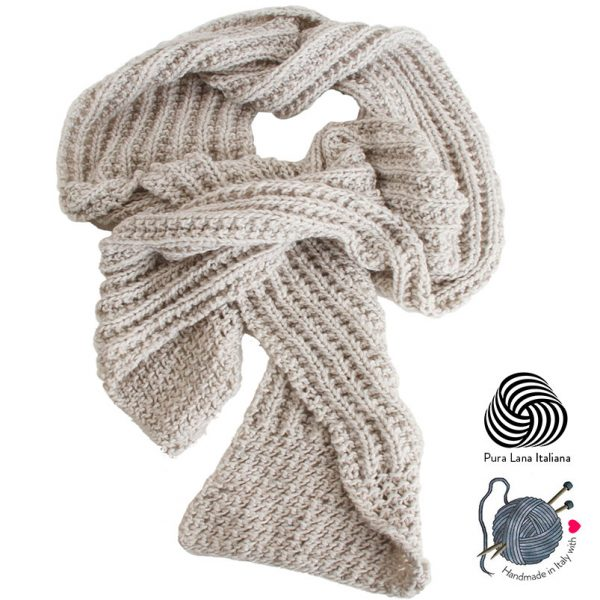 sciarpa-fatta-a-mano-lana-bianca-melange