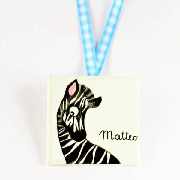 targhetta-animali-zebra