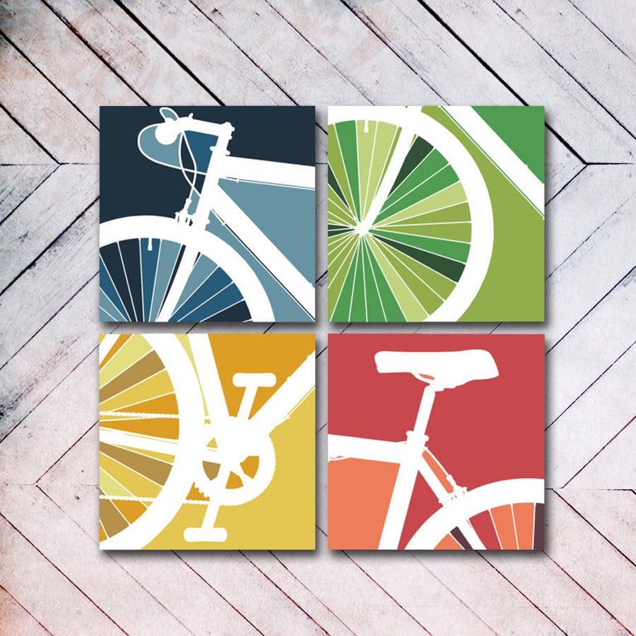 canva con biciclette