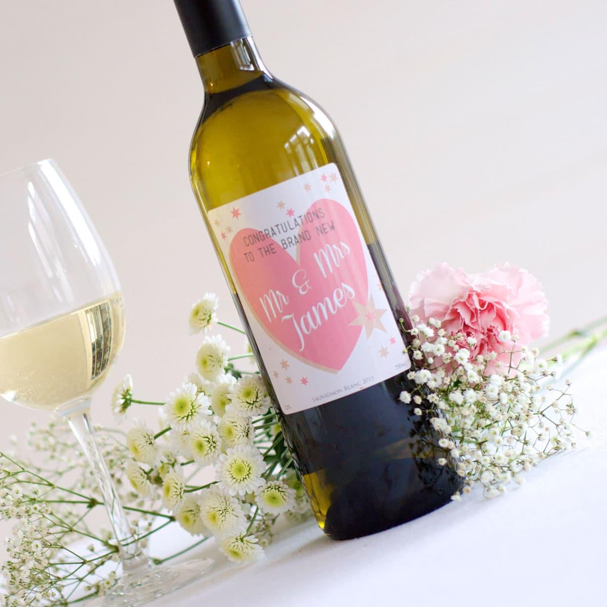 spesso Bottiglie di Vino con Etichette Personalizzate - Idea Bomboniera  UC34