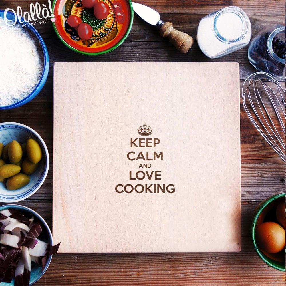 tagliere-personalizzato-keep-calm-love-cooking