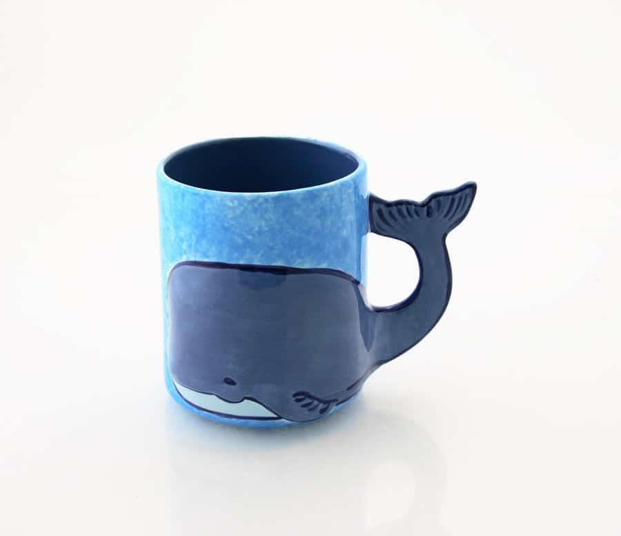tazza balena