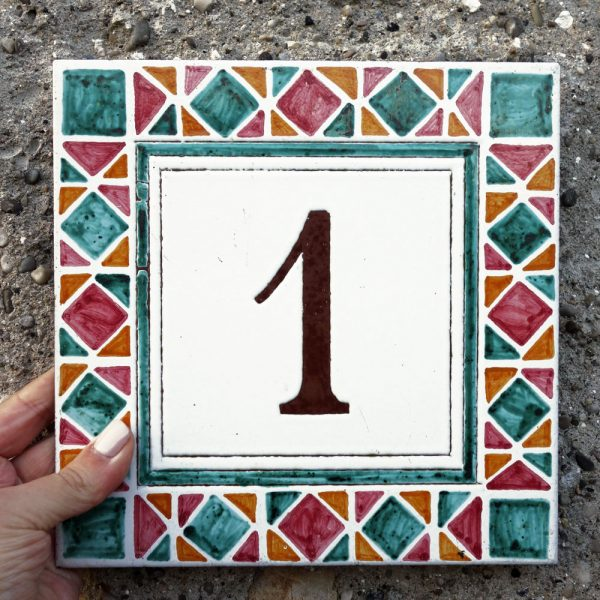 numero-civico-mosaico-quadrato