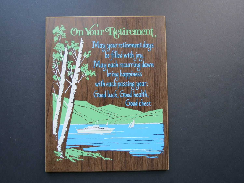 Idee Regalo Per Colleghi D Ufficio : Targhe e quadri per il pensionamento le più belle scovate per te