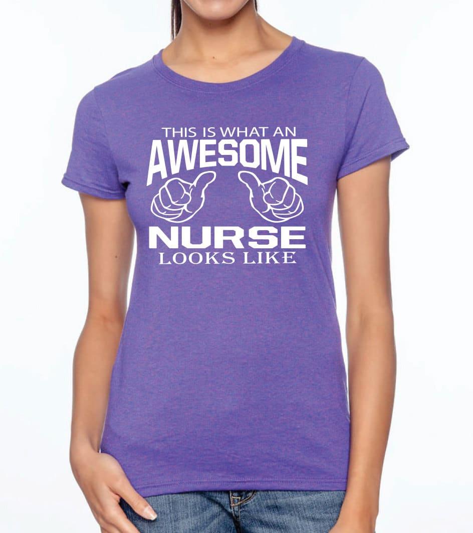 t-shirt infermiere