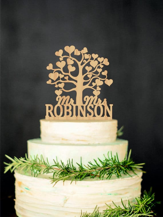 cake-topper-legno-albero-con-cuori