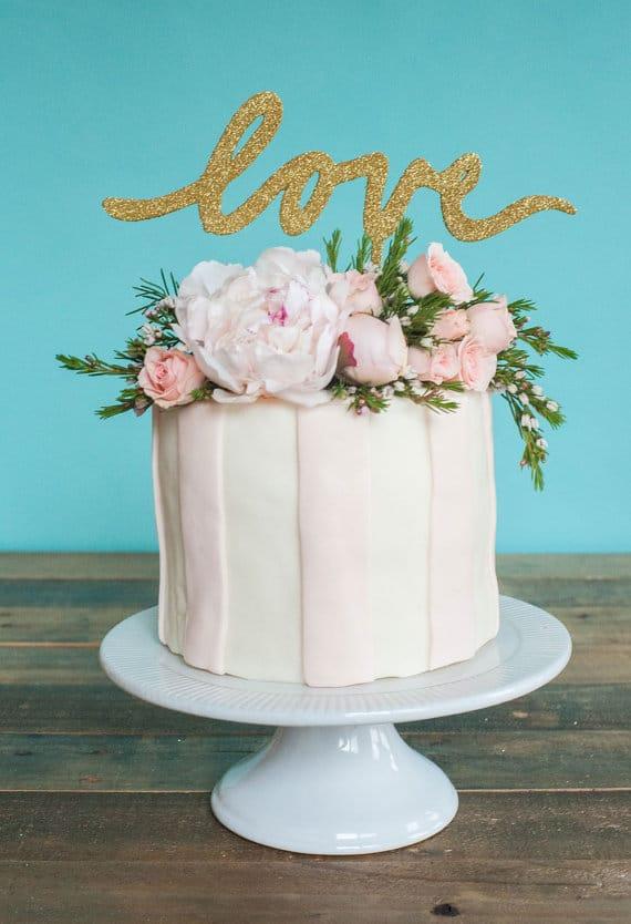 cake-topper-matrimonio-legnoglitter-love