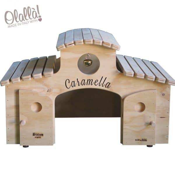 cuccia-aperta-legno-personalizzabile-nome