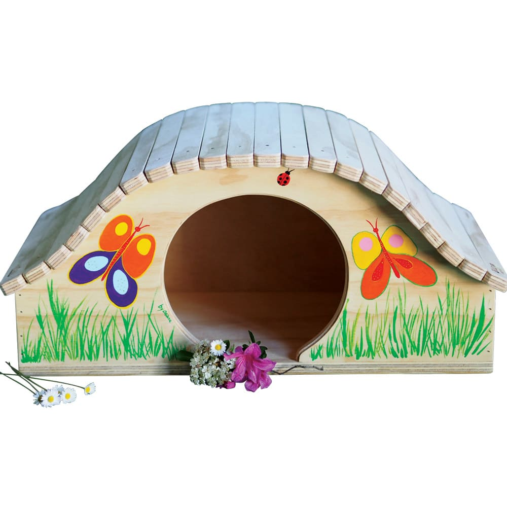 Cuccia di legno personalizzabile con il nome per gatti - Cuccia per gatti ikea ...