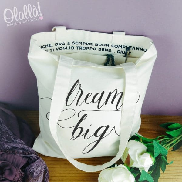 shopper-personalizzata-dream-big-idea-regalo