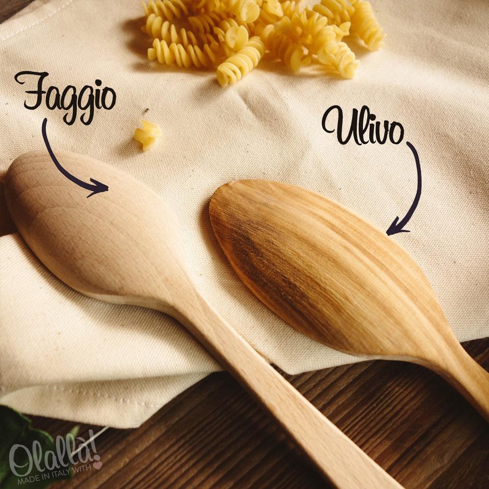 cucchiai di legno personalizzati