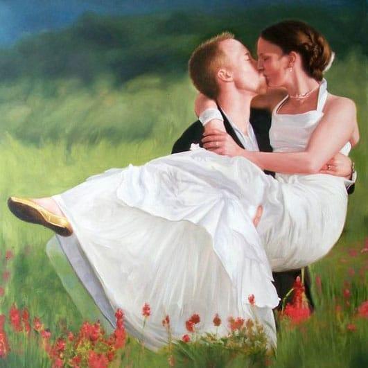 matrimonio.dipinto-acrilico-da-fotosposi