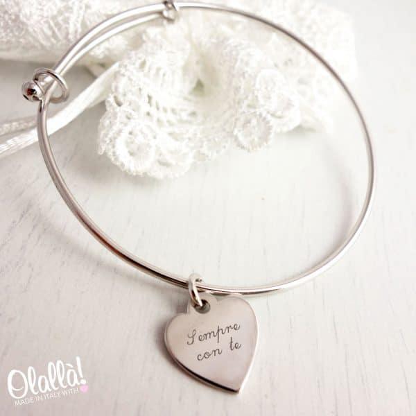 braccialetto-cuore-argento-personalizzato