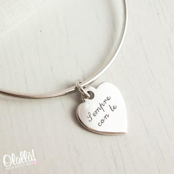 braccialetto-cuore-argento-personalizzato-sempreconte