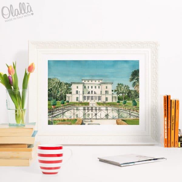 dipinto-acquerello-villa