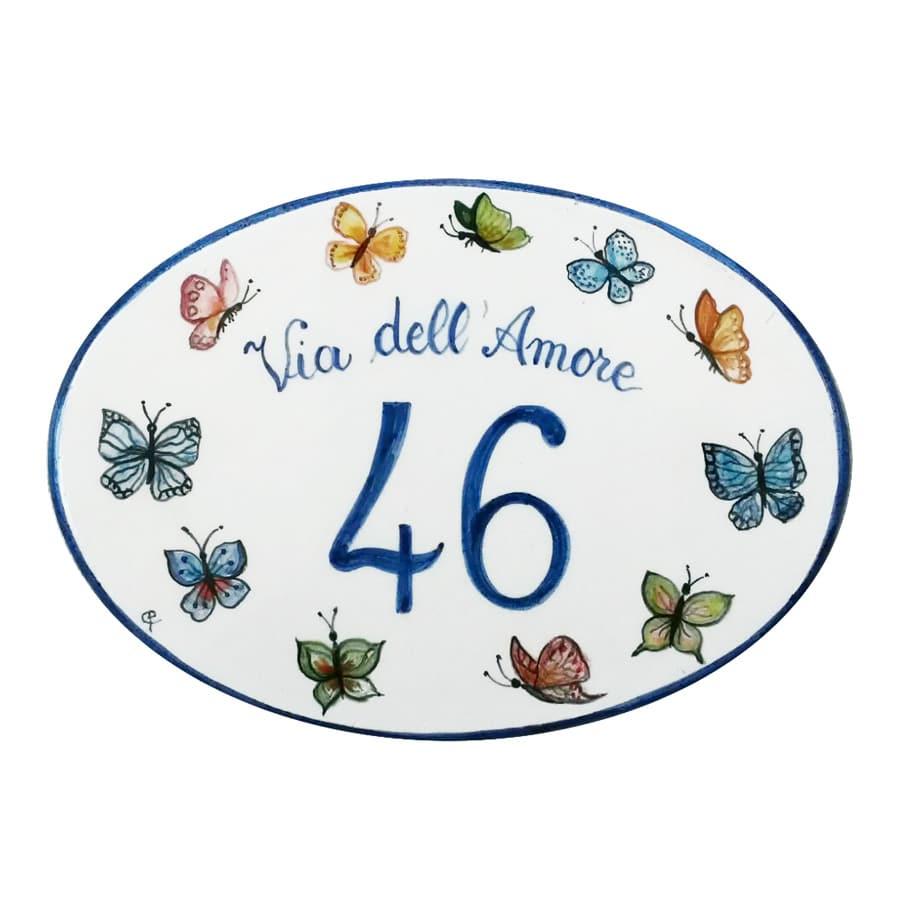 numero-civico-farfalle-ceramica-dipinta-mano