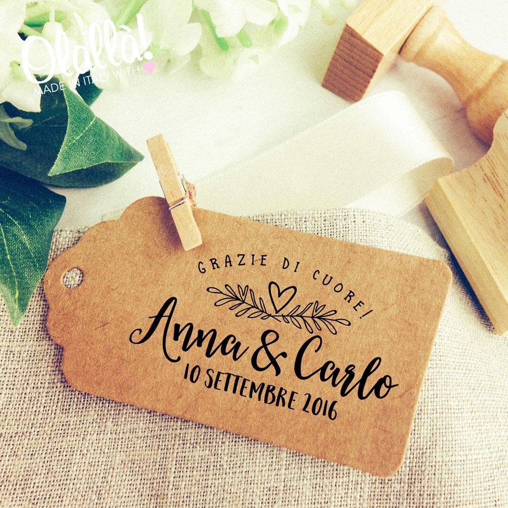 Timbri Personalizzati per il Matrimonio