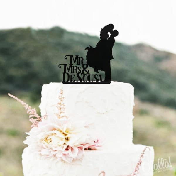 cake-topper-sposini-nero-coppia-bacio-personalizzato-mr-mrs