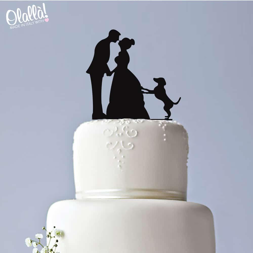 caketopper-matrimonio-sposi-cane