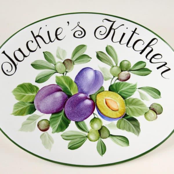 targa-per-cucina-porcellana-cucina-di-prugne-olivetarga-per-cucina-porcellana-cucina-di-prugne-olive