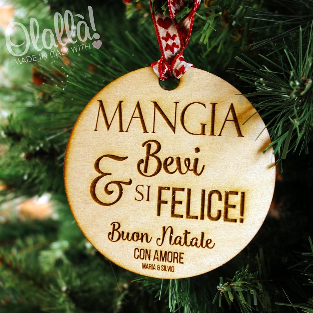 Palline di natale in legno zr49 regardsdefemmes for Decorazioni natalizie in legno da appendere