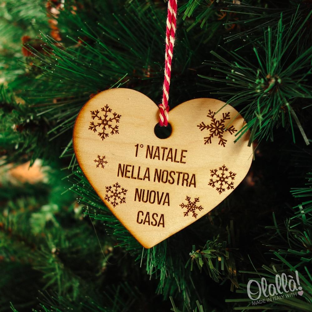 Decorazione di legno da appendere all albero di natale for Decorazioni natalizie in legno da appendere