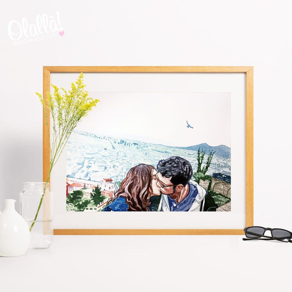 dipinto-ritratto-su-commissione-bacio-innamorati