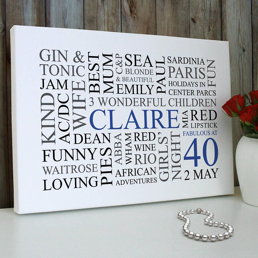 idea-regalo-40-anni-donna-stampa-quadro-personalizzato