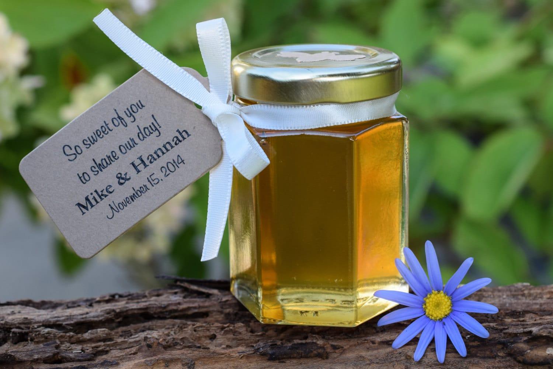 miele-bomboniera-matrimonio-tag-carta-kraft-laccetto-bianco