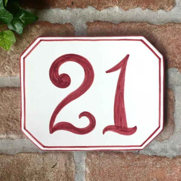 numero-civico-dipinto-mano-semplice-ottagonale-personalizzato2