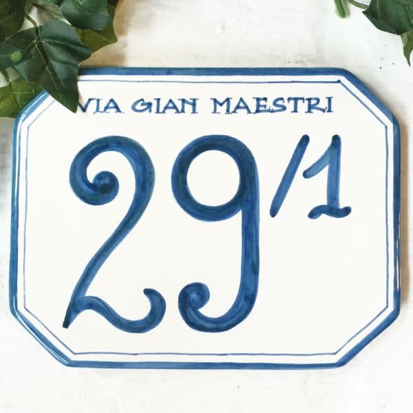 numero-civico-ottagonale-personalizzato