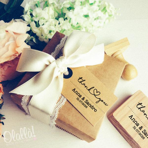 abbastanza Timbri Personalizzati per il Matrimonio | Olalla ZN59