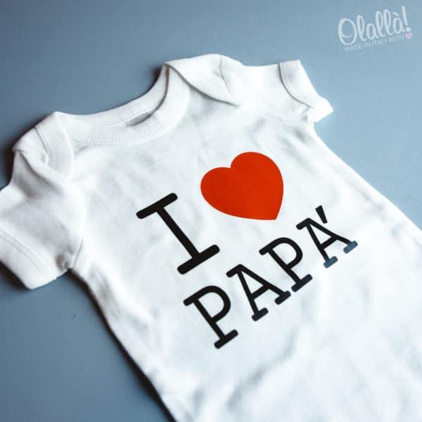 body-bimbo-personalizzato-i-love-papa