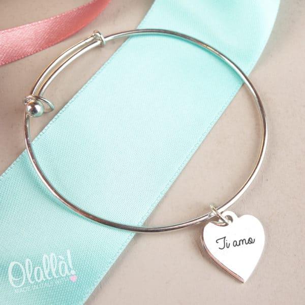 bracciale-argento-personalizzato-cuoricino-regolabile-ti-amo