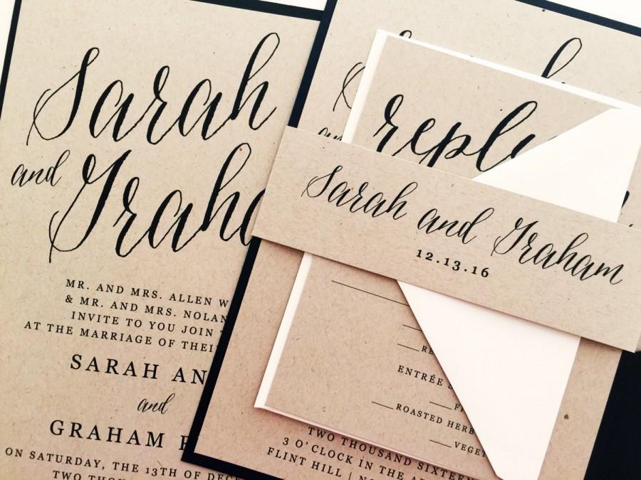 Partecipazioni Matrimonio Scritte.Partecipazioni Di Matrimonio Scritte A Mano In Stile Calligrafico