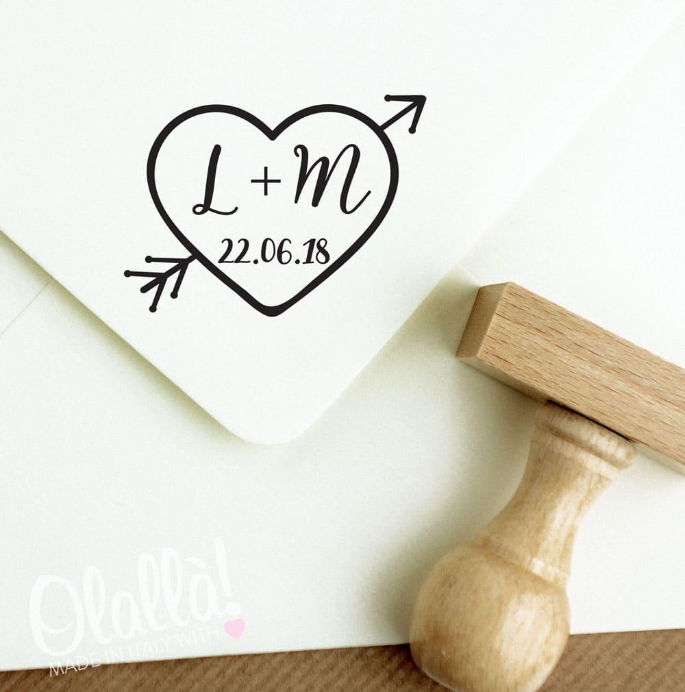 timbro-cuore-freccia-iniziali