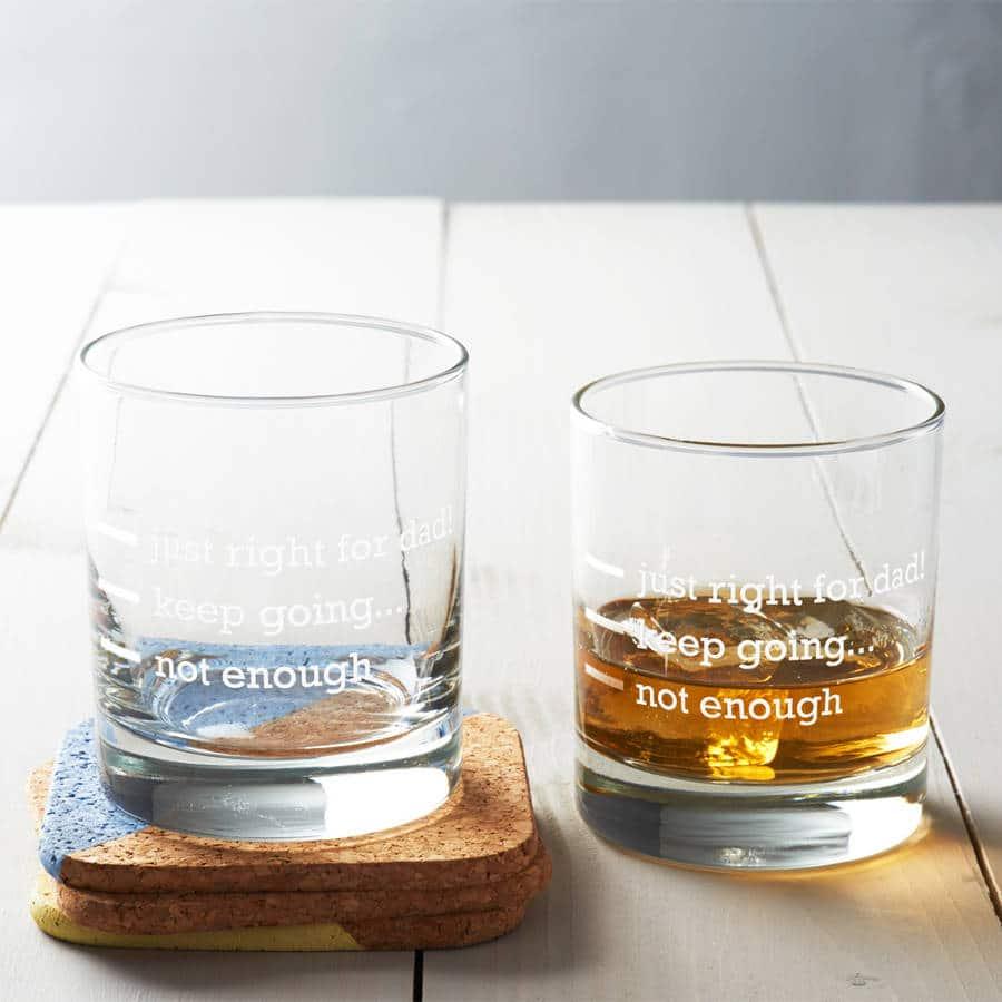 BICCHIERE-PERSONALIZZATO--wiskey-IDEA-PAPA-REGALO